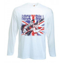 Union Jack Rock 'N' Roll Long Sleeve T-Shirt