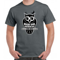Night Owl Northern Soul Logo Men's T-Shirt
