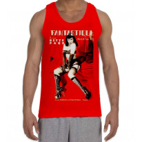 Betty Page Fantastique Men's All Over Print Graphic Vest Tank Top