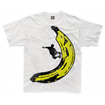 Banana Skateboarder Kids Childrens T-Shirt