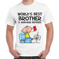 Worlds Best Brother Men's T-Shirt