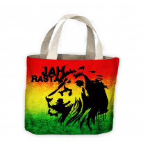 Jah Rasta Tote Shopping Bag For Life