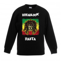 Dreadlock Rasta Reggae Children's Unisex Sweatshirt Jumper