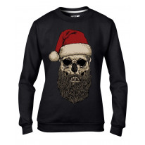Santa Claus Hipster Beard Christmas Women's Sweater \ Jumper