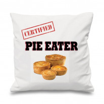 Certified Pie Eater Scatter Cushion