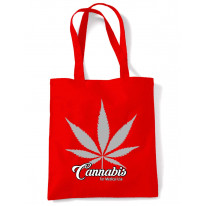 Cannabis For Medical Use Leaf Tote Shoulder Shopping Bag