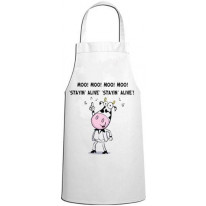 Stayin' Alive Cow Vegetarian Kitchen Apron
