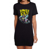 Jungle Beats Junglist DJ Women's T-Shirt Dress