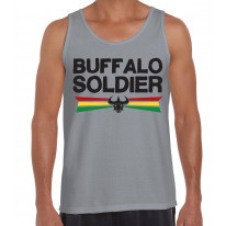 Buffalo Soldier Reggae Men's Tank Vest Top