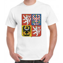 Czech Republic Coat Of Arms Flag Men's T-Shirt