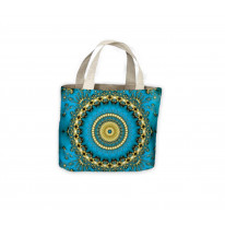 Tie Dye Tote Shopping Bag For Life