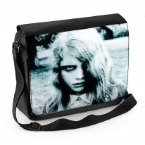 Night of the Living Dead Zombie Girl Laptop Messenger Bag