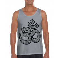 Om Symbol Large Print Men's Vest Tank Top