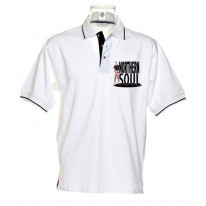 Northern Soul Girl Men's Tipped Polo T-shirt