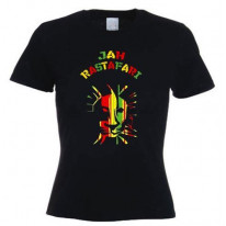 Jah Rastafari Lion Of Judah Women's T-Shirt