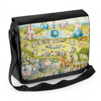 Hieronymus Bosch Garden of Earthly Delights Laptop Messenger Bag