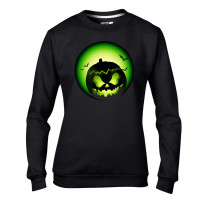Halloween Pumpkin Women's Sweatshirt Jumper