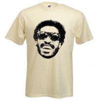 Stevie Wonder Half Tone Mens T-Shirt