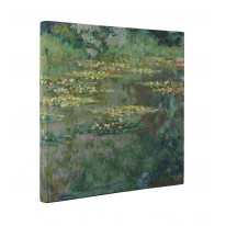 Claude Monet Le Bassin Aux Nympheas - Water Lillies Canvas Print Wall Art - Choice Of Sizes