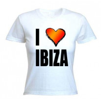 I Love Ibiza  Women's T-Shirt
