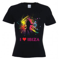 I Love Ibiza Dancer Women's T-Shirt