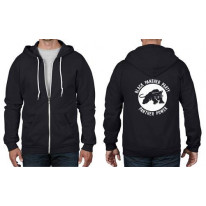 Black Panthers Peoples Party Full Zip Hoodie