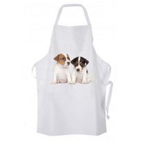 Jack Russell Puppies Kitchen Apron
