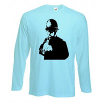 Banksy Rude Copper Long Sleeve T-Shirt