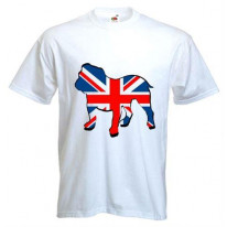 British Bulldog Union Jack Mens T-Shirt