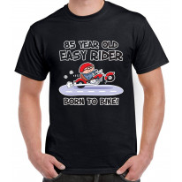 Easy Rider For 85 Years Born To Bike 85th Birthday Men's T-Shirt