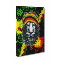 Lion of Judah Box Canvas Print Wall Art - Choice of Sizes