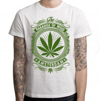 Amsterdam Paradise Of Weed Cannabis Men's T-Shirt