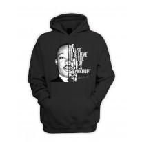 Martin Luther King Bank Of Justice Quote Pouch Pocket Hoodie