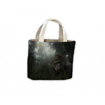 Gorilla in Forest Tote Shopping Bag For Life