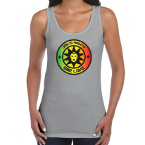 Jah Is Mighty Reggae Women's Tank Vest Top
