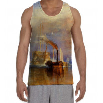 William Turner The Fighting Temeraire Men's All Over Graphic Vest Tank Top