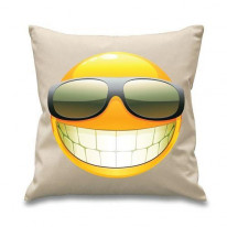 Smiley Face Acid House Cushion