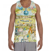 Hieronymus Bosch Garden of Earthly Delights Men's All Over Print Graphic Vest Tank Top