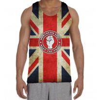 Northern Soul Keep The Faith Union Jack Men's All Over Graphic Vest Tank Top