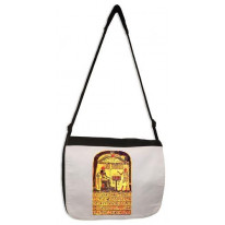 Aleister Crowley Stele Of Revealing Laptop Messenger Bag
