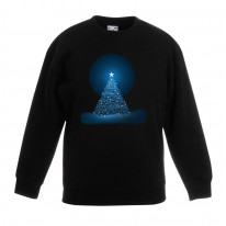 Glowing Christmas Tree Kids Jumper \ Sweater