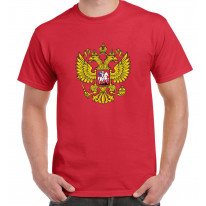 Russian Coat Of Arms Flag Men's T-Shirt