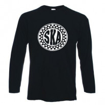 Ska Circle Logo Long Sleeve T-Shirt