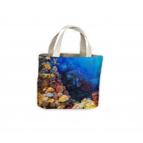 Coral Tote Shopping Bag For Life