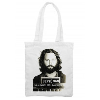 Jim Morrison Mugshot Shoulder Bag