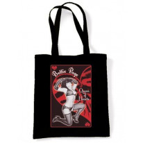 "Betty Page ""Queen Of Hearts"" Shoulder Bag"