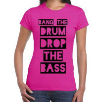 Bang The Drum And Drop The Bass Women's T-Shirt