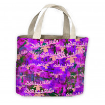 Watercolour Rudolph Christmas Pattern Tote Shopping Bag For Life