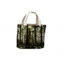 Forest Horror Face Tote Shopping Bag For Life