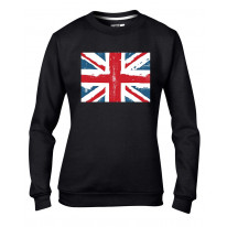 Union Jack British Flag Women's Sweatshirt Jumper